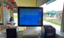 Lắp đặt Máy tính tiền cho quán ăn tại Bình Phước