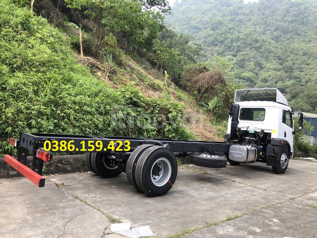 Giá bán xe tải faw 8 tấn thùng dài 8m