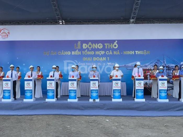 Khởi công cảng quốc tế Cà Ná, Ninh Thuận