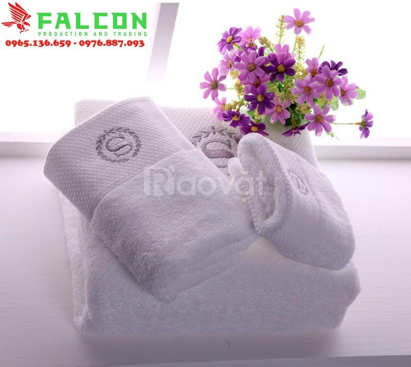 Khăn tay khách sạn Falcon giá rẻ