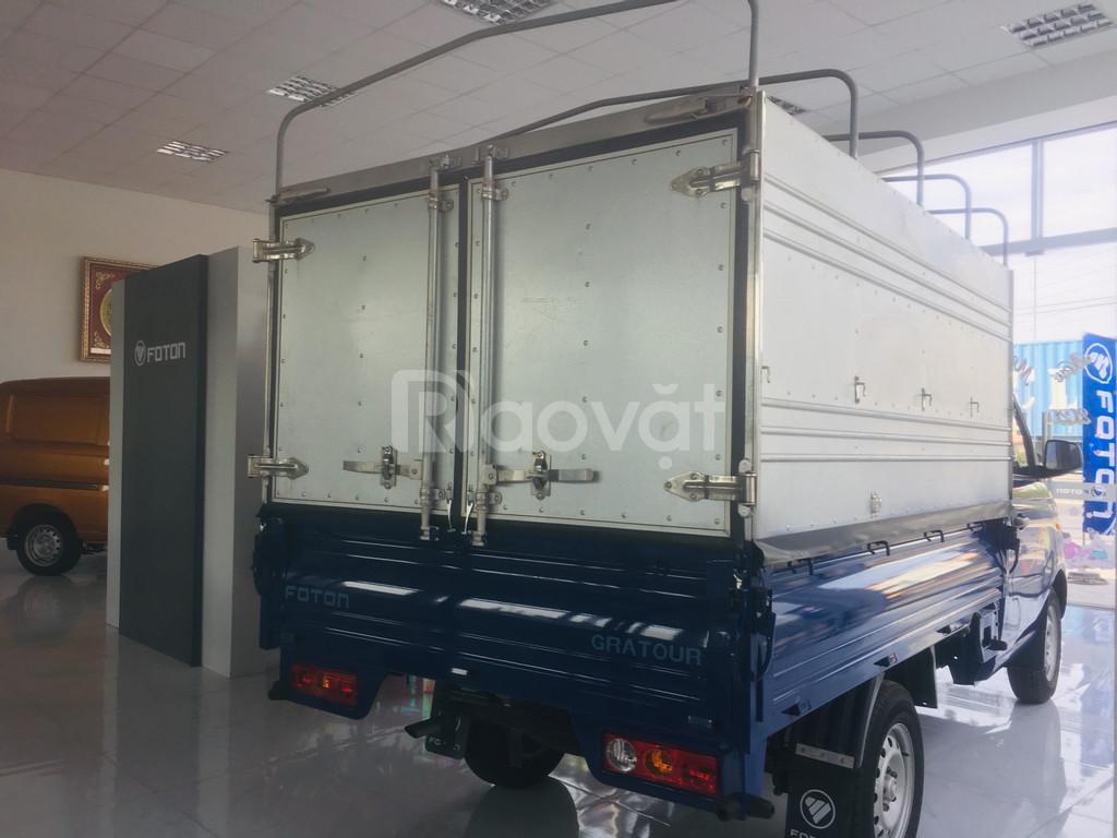 Xe tải Foton Gratour T3 1.5L thùng mui bạt