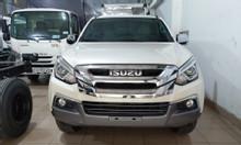 isuzu Mu-x tự động, máy dầu 1.9 turbo, KM 50% thuế trước bạ