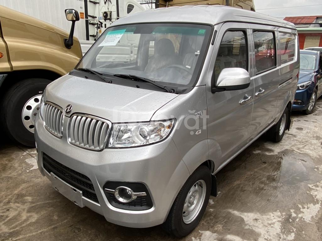 Xe tải van 5 chỗ l Dongben X30 tải trọng 700kg đời 2020
