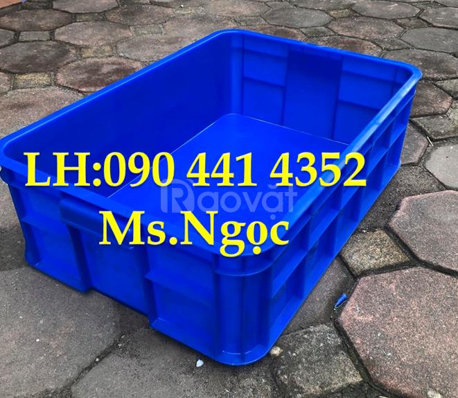 Sóng nhựa đặc HS019, thùng nhựa đặc công nghiệp HS007, sóng nhựa bít