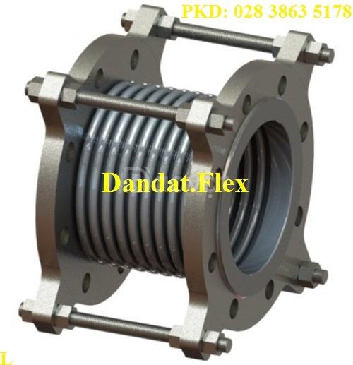 Khớp giãn nở inox dùng cho dầu truyền nhiệt, khớp co giãn nhiệt inox