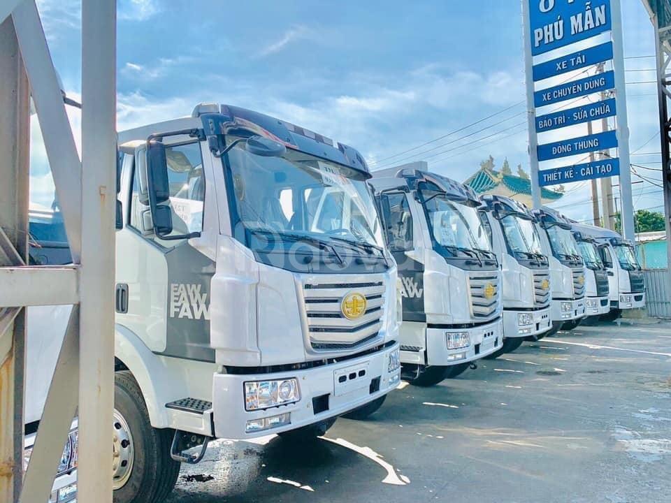 Xe tải chuyên chở Pallet, cấu kiện điện tử, bao bì mút sốp | Faw 9M7