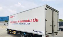 Giá xe tải isuzu 1.9 tấn thùng dài 6.2 mét chở hàng nhẹ