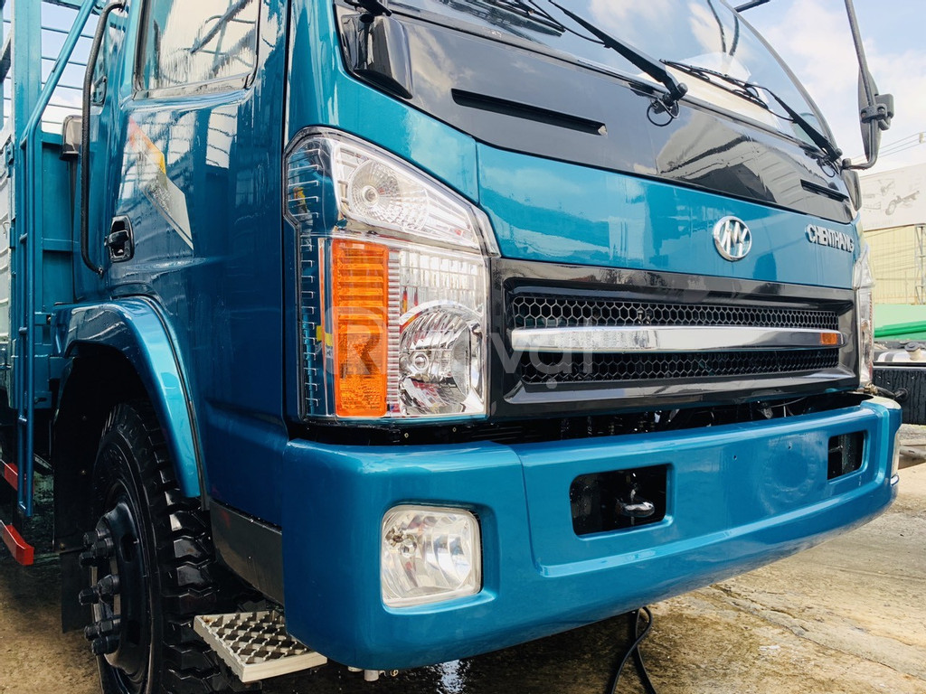 Xe tải 7 tấn thùng 6m7 giá 480 triệu lăn bánh