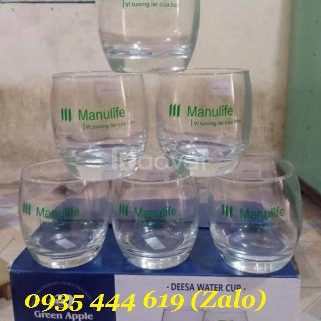 In ly thủy tinh quà tặng tại Quảng Ngãi