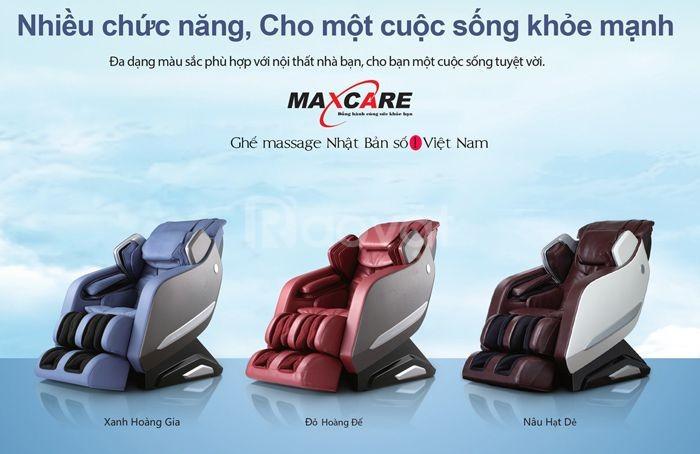 Ghế massage toàn thân Maxcare Max669