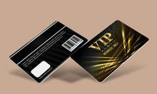 In thẻ hội viên, thẻ vip card