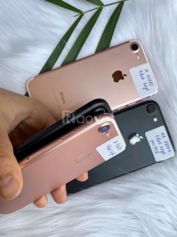 Iphone 7 bản lock 32gb đẹp, zin áp, pin trâu