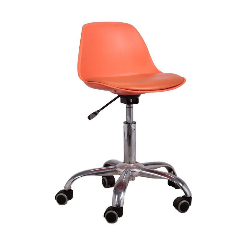 Ghế nệm chân xoay bánh xe GLM05D ghế ngồi gội đầu, ghế massage xoay