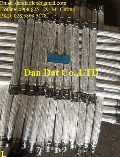 Khớp nối nhanh ren trong inox 304/inox 316 đầu cái ren trong - kiểu D