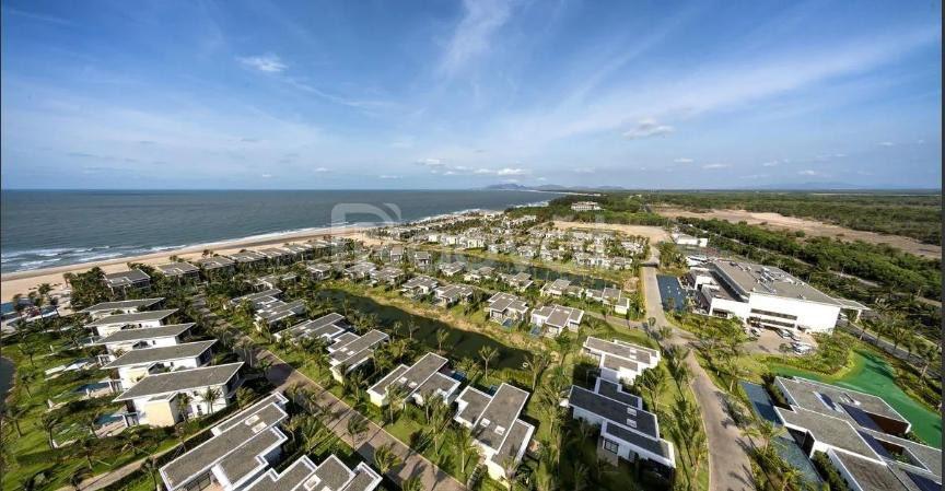 Sang nhượng biệt thự biển Melia Hồ Tràm giá 19.9 tỷ, view biển, 3PN