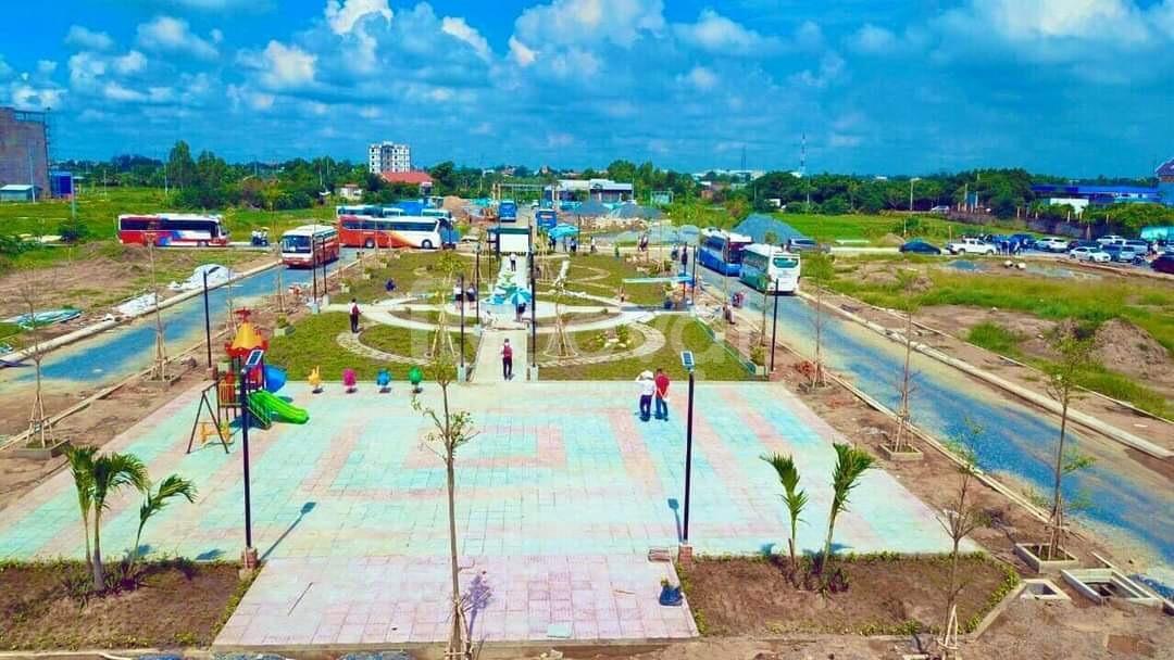 Đất nền khu đô thị mới huyện Cần Đước mặt tiền đường Chánh Cần Đước