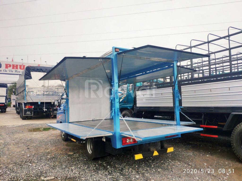 Xe bán hàng lưu động thùng 1 tấn 5 l Jac X150
