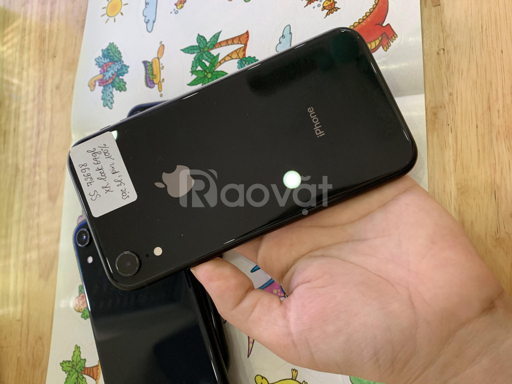 Điện thoại iphone XR bản lock 64gb đẹp, zin áp, pin trâu