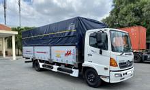 Hino FC thùng bạt thùng dài 7M2, trả trước 200tr nhận xe