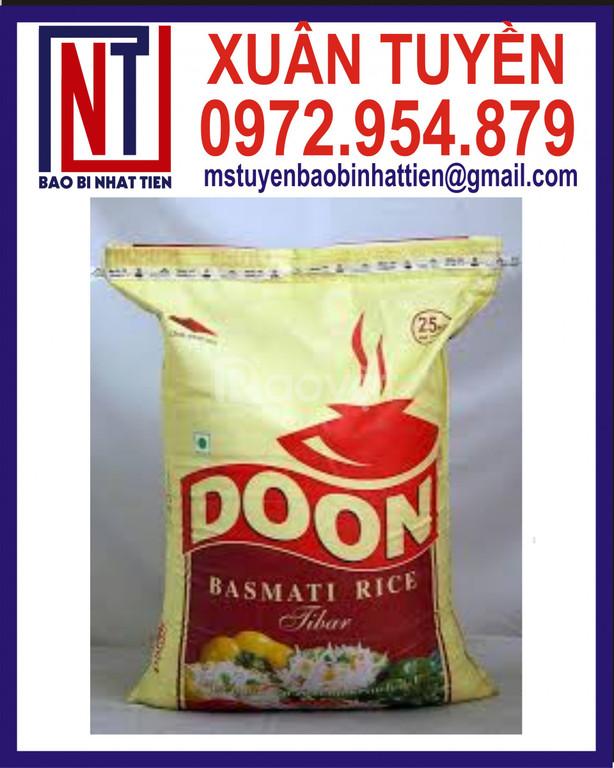 Sản xuất bao đựng gạo 10kg giá tốt