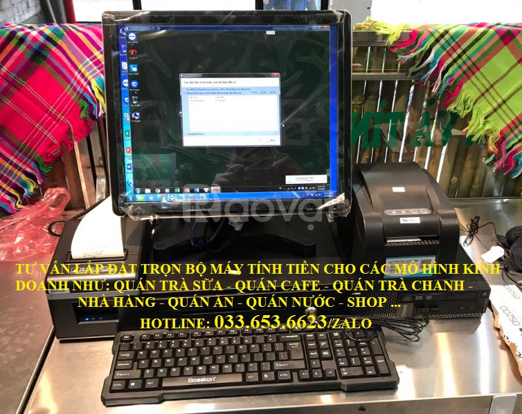 Bán máy tính tiền cho quán Cafe, trà sữa tại Đồng Tháp