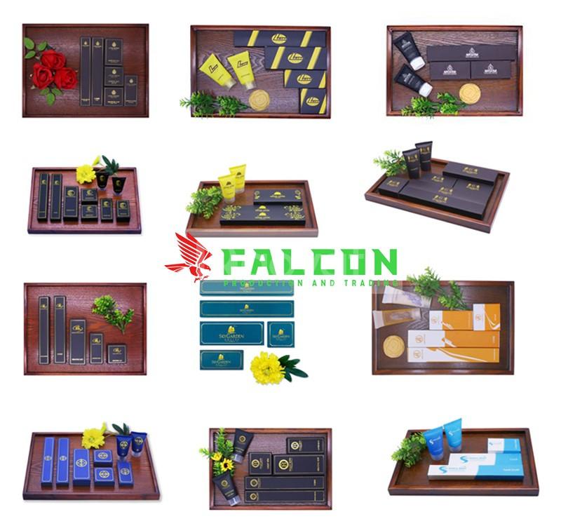 Bao bì amenities khách sạn Falcon giá rẻ