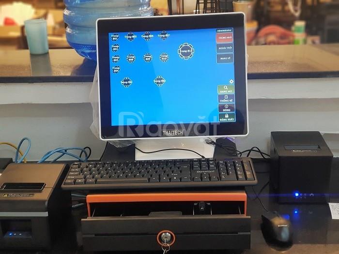 Bán trọn bộ máy tính tiền giá rẻ cho quán ốc tại An Giang