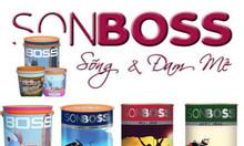 Địa chỉ nhà phân phối sơn nước Boss chính hãng, giá sỉ cho đại lý