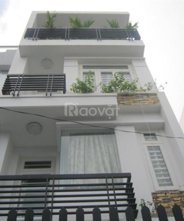Bán nhà đẹp 1 trệt, 2 lầu ST, HXH Âu Cơ, P14, Q.Tân Bình, 55m2, 6 tỷ hơn.