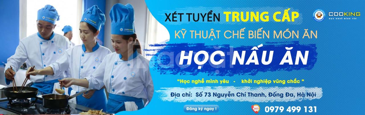 Trường cao đẳng nấu ăn Hà Nội xét tuyển học bạ 2020