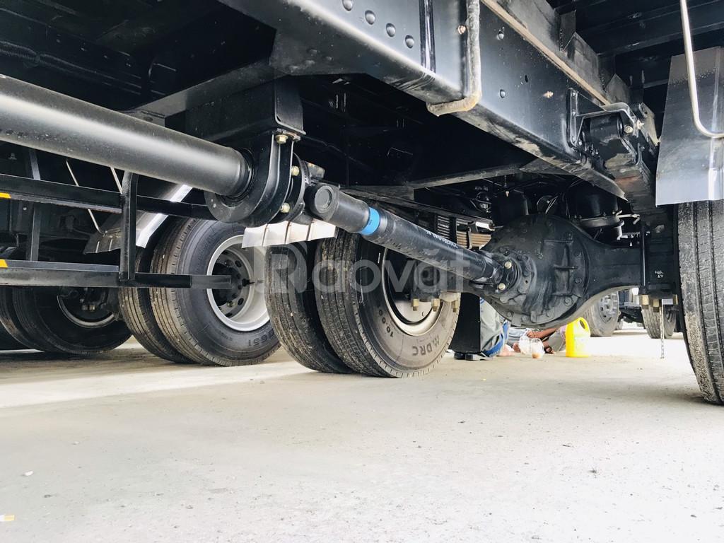 Xe tải thùng dài, xe tải faw thùng dài 8 tấn thùng 9.8 mét
