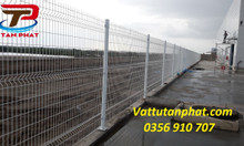 Hàng rào lưới thép, hàng rào chắn sóng, hàng rào bảo vệ ngăn kho D4,D6