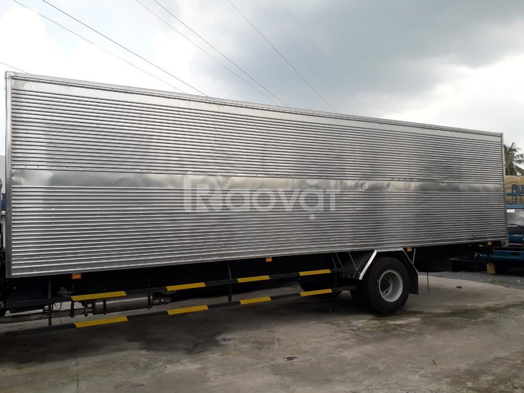 Xe tải Faw 7T2 thùng dài 9m7 đời 2020