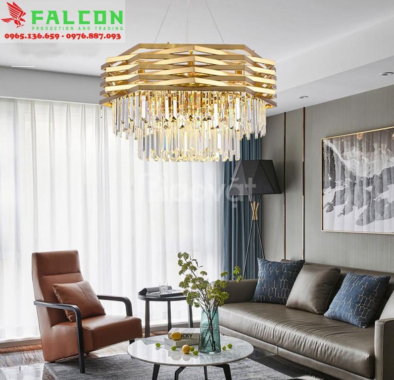 Đèn chùm khách sạn Falcon giá rẻ