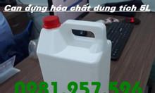 Can nhựa HDPE các loại, can nhựa hóa chất, can có garenti