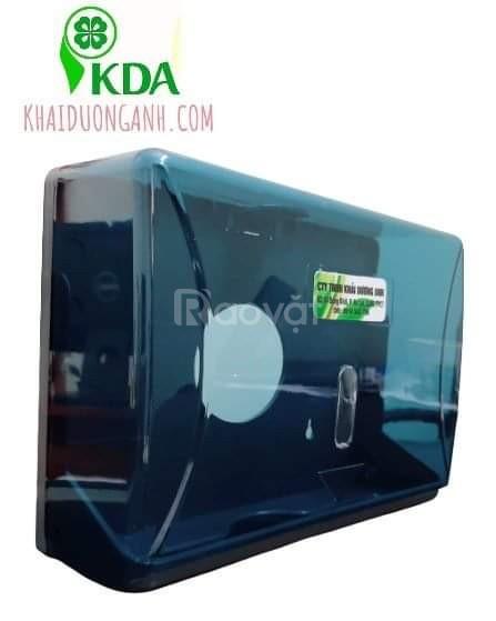Hộp giấy lau tay treo tường nhà vệ sinh bằng inox, nhựa ABS Trà Vinh