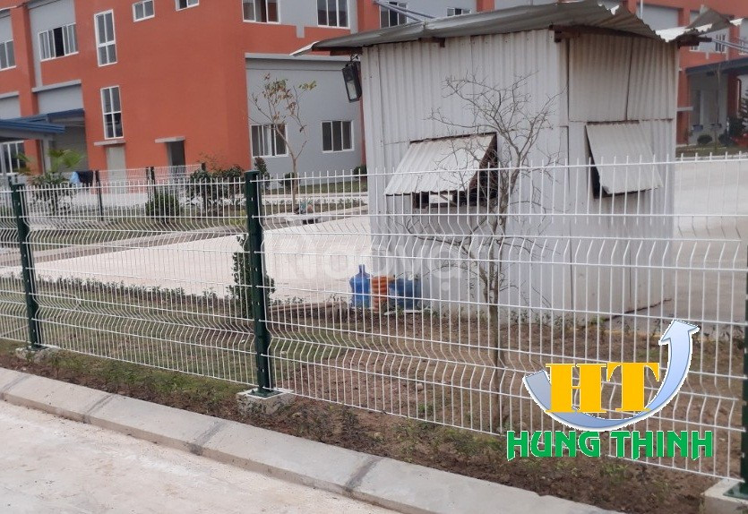 Sản xuất lắp đặt hàng rào lưới thép hàn, lưới hàng rào sơn tĩnh điện