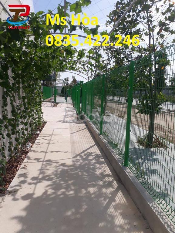 Lưới hàng rào nhà xưởng, hàng rào khu công nghiệp