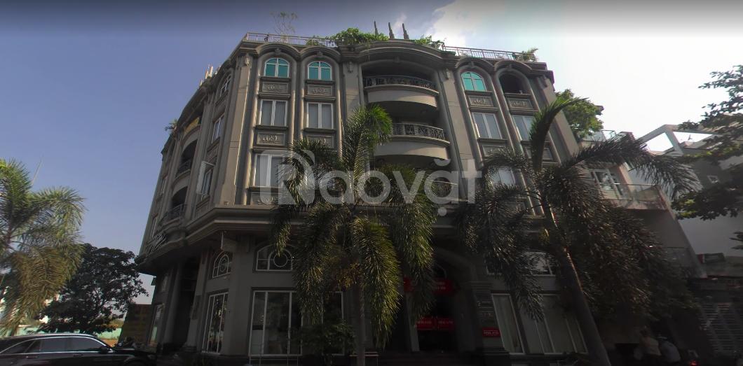 Building văn phòng góc 2 mặt tiền đường 40m, An Phú, Quận 2.