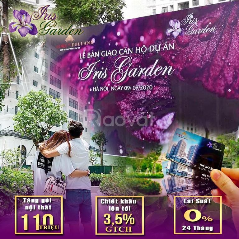 Căn góc 3pn Iris Mỹ Đình, thanh toán 30% nhận nhà ngay