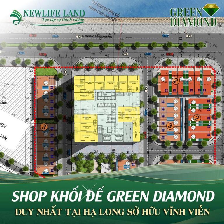 Chung cư cao cấp 2 mặt biển Green Diamond Hạ Long giá chỉ từ 1.3 tỷ
