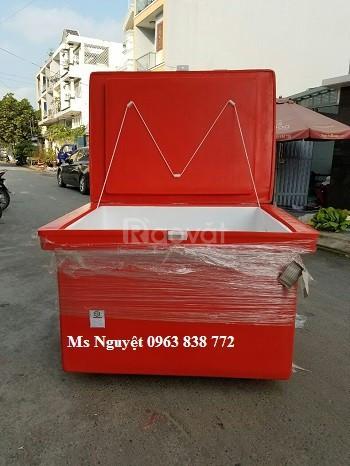 Thùng đá 800 lít hàng Việt Nam chất lượng cao