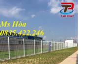 Hàng rào lưới thép mạ kẽm sơn tĩnh điện D4 D5 giá rẻ