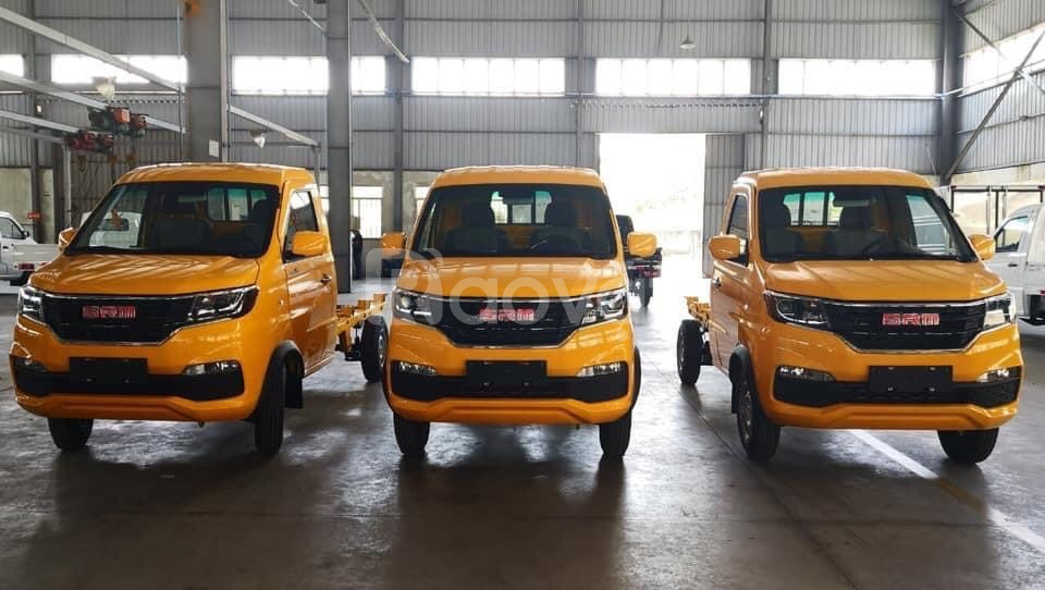 Xe tải Dongben SRM 930kg thùng kín