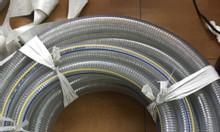 Ống nhựa mềm lõi thép phi 150, phi 200 dẫn nước, thực phẩm, xăng dầu.