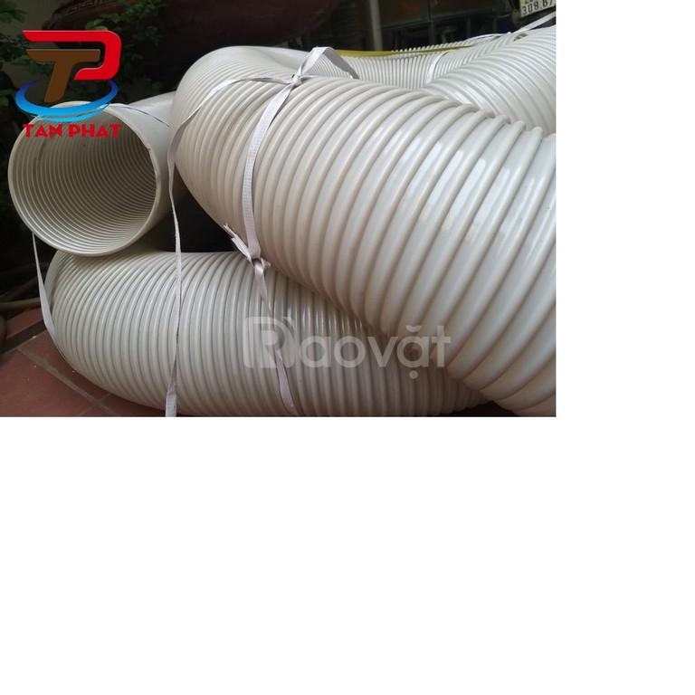 Ống hút gió mềm, ống bạt vải cốt dù, ống hút bụi công nghiệp