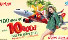 Vietjet Air ưu đãi vé nội địa chỉ từ 10.000 đồng