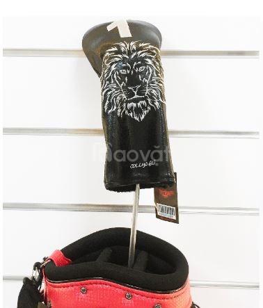 Bọc đầu gậy golf driver kiểu hàn quốc collys lion club headcover