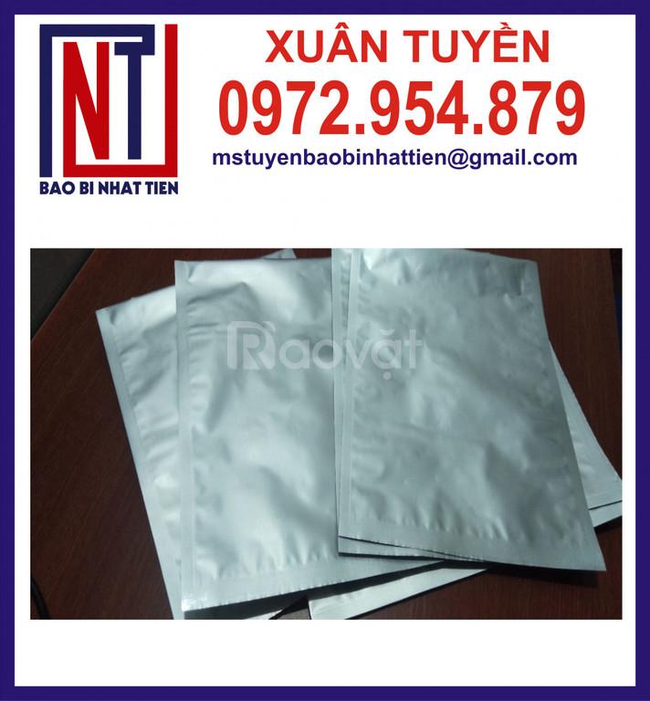 Sản xuất và cung cấp túi nhôm 3 biên 500gr, 1kg