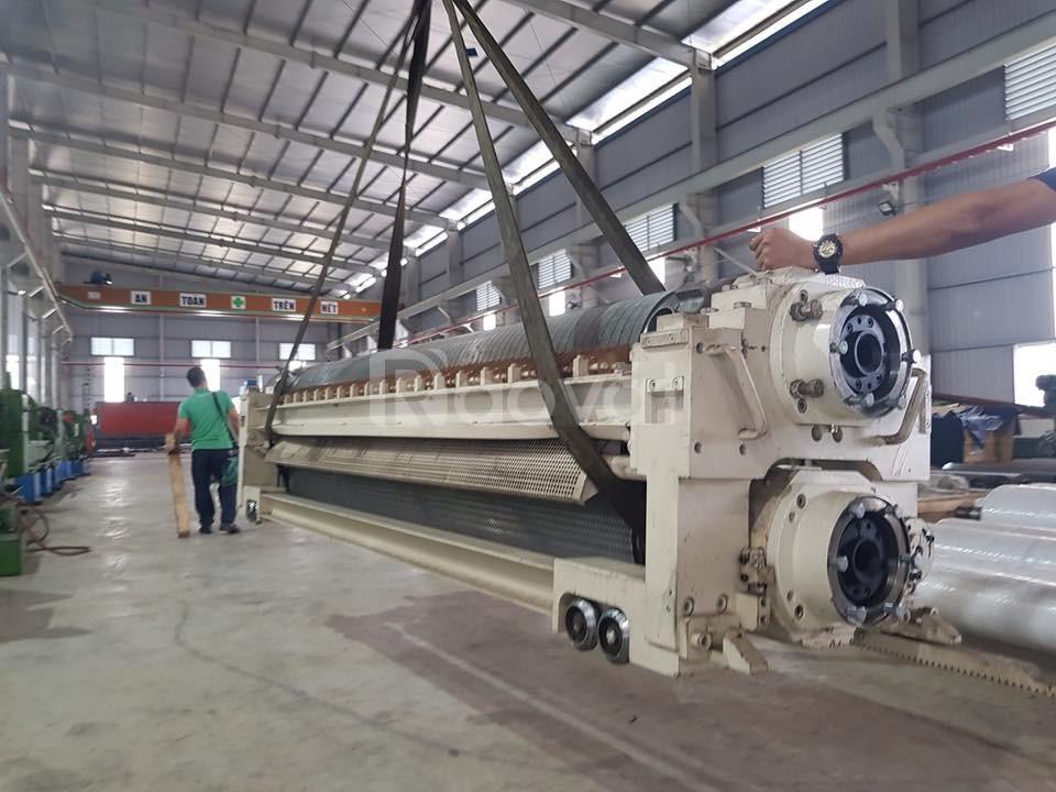Dây chuyền sản xuất carton, máy sóng mới & phục hồi mạ Tungsten.